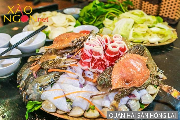 Quán hải sản Hồng Lai