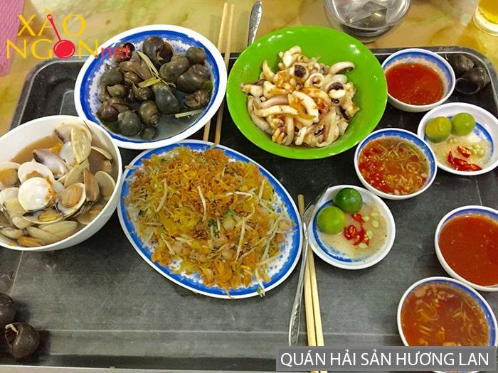 Quán hải sản Hương Lan
