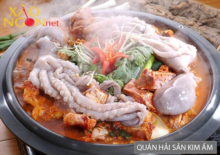 Quán hải sản Kim Ấm