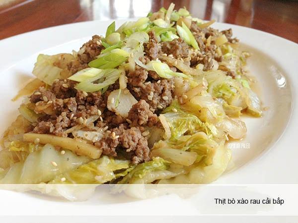 Cách làm 3 món thịt bò xào rau cải đơn giản, ngon, bổ dưỡng