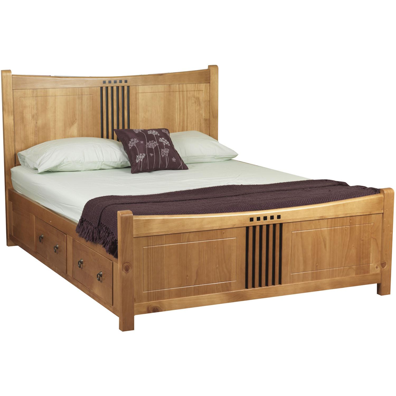 Giá giường gỗ có hộc kéo cho đa dạng khách hàng