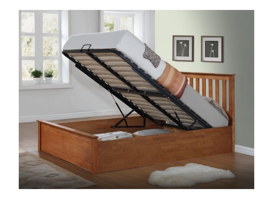 Mẫu thiết kế giường ngủ có ngăn kéo ấn tượng 1