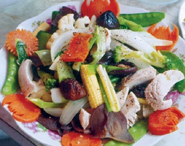 Các món thịt gà xào cực ngon, dễ làm cho bữa tối 1