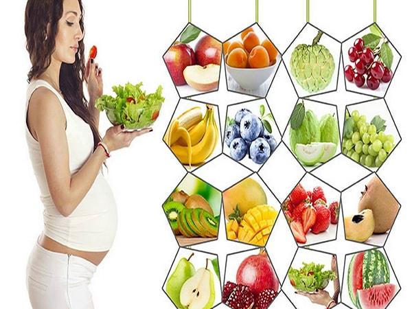 Gợi ý thực đơn cho mẹ vào tháng cuối thai kỳ