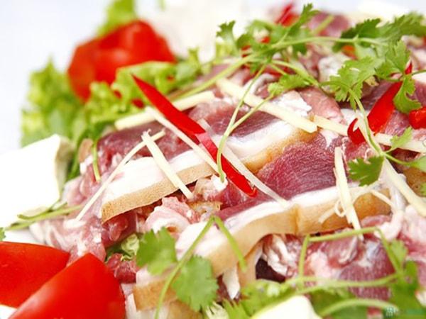 cách làm thịt dê xào lá lốt 2