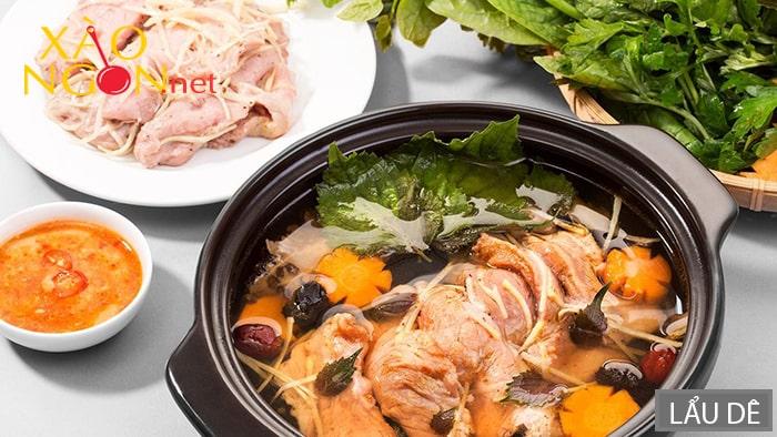 Lẩu dê là món ăn nổi tiếng ở Ninh Bình