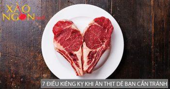 7 điều kiêng kỵ khi ăn thịt dê bạn cần tuyệt đối tránh
