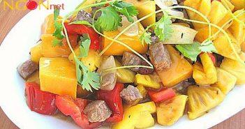 Cách làm thịt dê xào dứa chua ngọt, bổ dưỡng