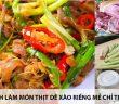 Cách làm món thịt dê xào riềng mẻ chỉ trong 30 phút 8