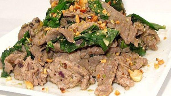 thịt bê xào lá lốt