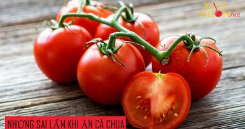 Những sai lầm khi ăn cà chua gây hại sức khỏe bạn cần tránh