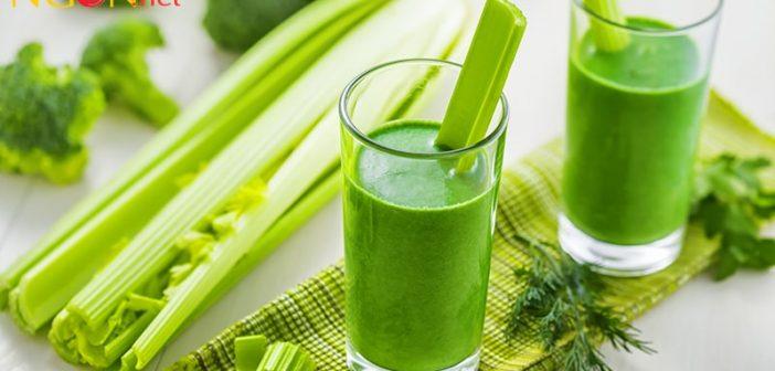 Nước ép rau cần tây có tác dụng gì với sức khỏe?