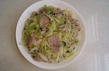 bắp cải xào thịt bò 9