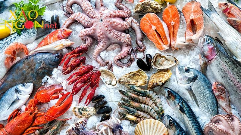 Một số loại hải sản không nên kết hợp với rau cần tây