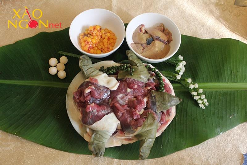 Thịt ba ba không nên kết hợp rau cần tây