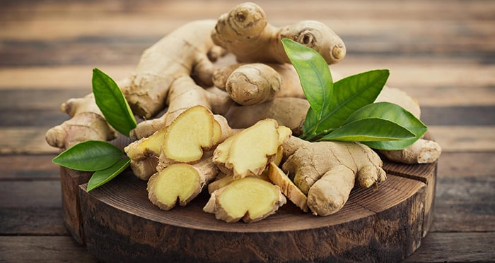 Gừng là thực phẩm giúp giảm triệu chứng sau khi cai thuốc lá
