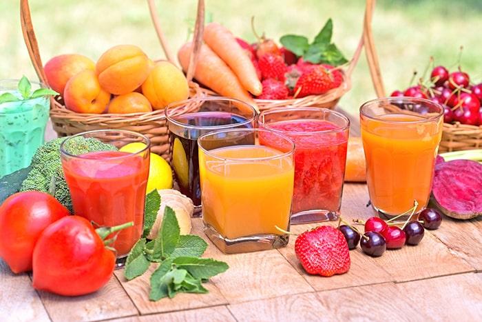 Nước trái cây rất tốt cho những người đang cai thuốc lá