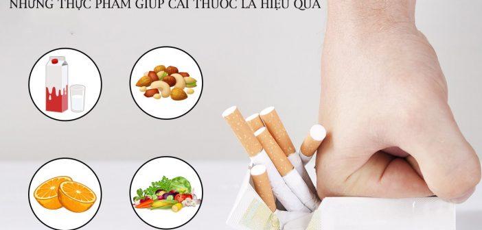 Những thực phẩm giúp cai thuốc lá hiệu quả bạn nên bổ sung