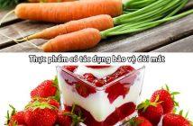 Top thực phẩm có tác dụng bảo vệ đôi mắt hiệu quả