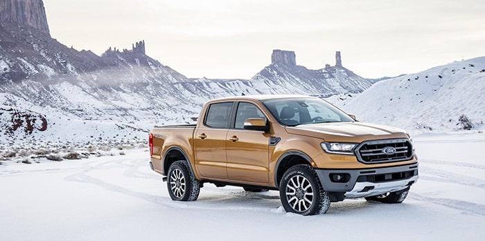 Ford Ranger có thể vượt qua mọi loại địa hình hiểm trở
