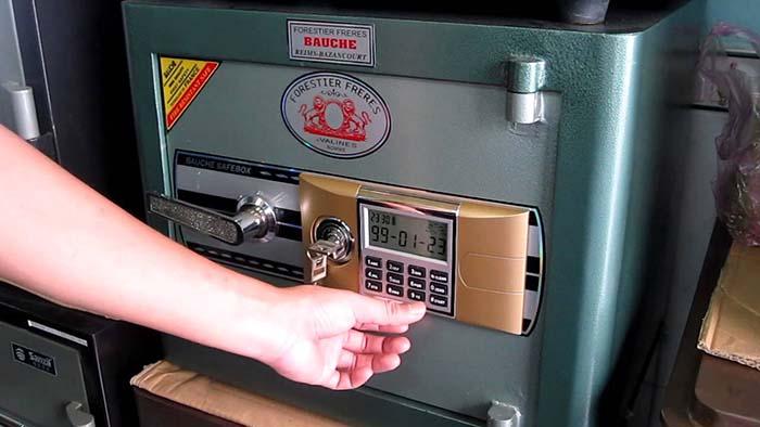 Sửa khóa két sắt tại nhà Gò Vấp