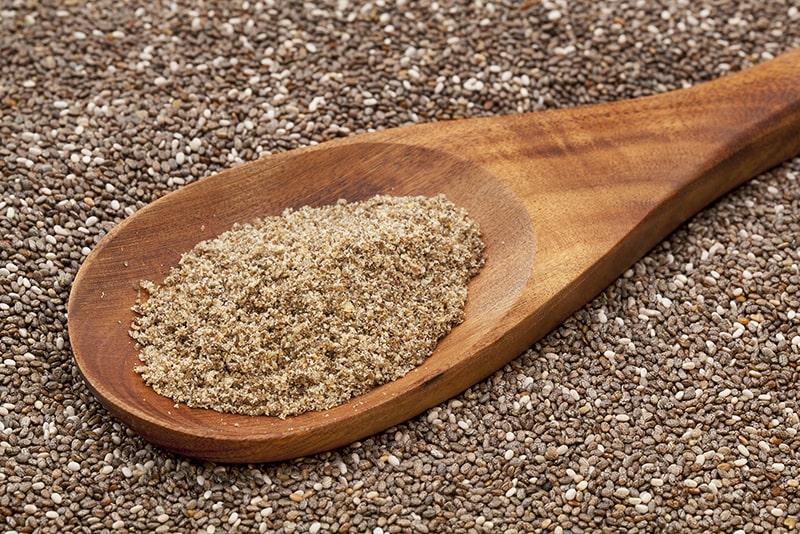 Lượng chất xơ lớn trong hạt chia tốt cho sức khỏe và vóc dáng