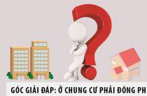 Góc giải đáp: Ở chung cư phải đóng phí gì?