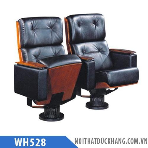 Ghế hội trường WH528 bọc da cao cấp