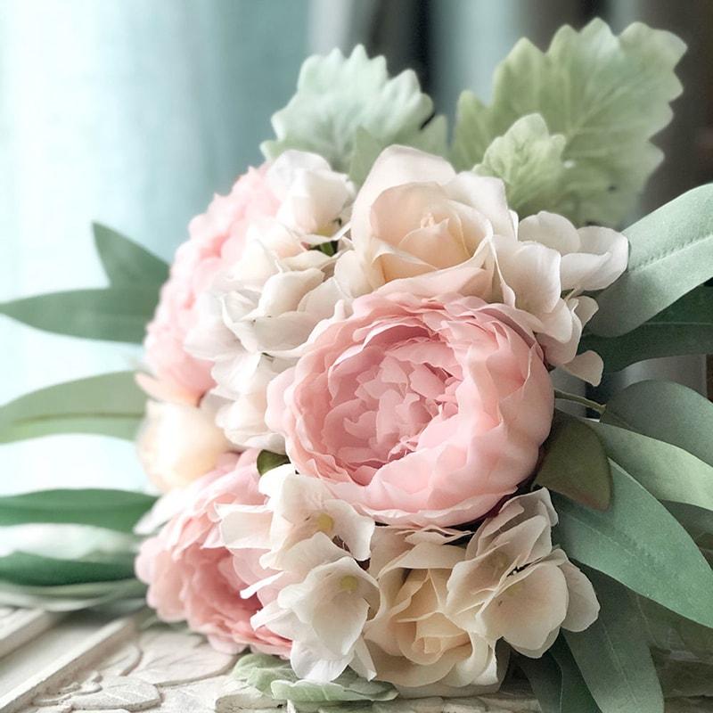 Hoa mẫu đơn là mẫu hoa cưới được ưa chuộng vào mùa xuân
