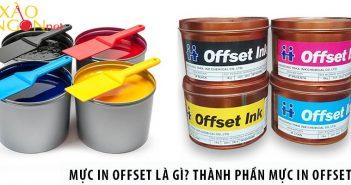 Mực in Offset là gì? Thành phần của mực in Offset thế nào?