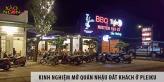 Kinh nghiệm mở quán nhậu đắt khách ở Pleiku