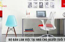 Mua bộ bàn làm việc tại nhà ở Hà Nội cho người tuổi Thân