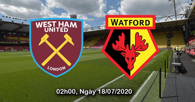 Nhận định bóng đá: West Ham vs Watford, 2h00 ngày 18/7