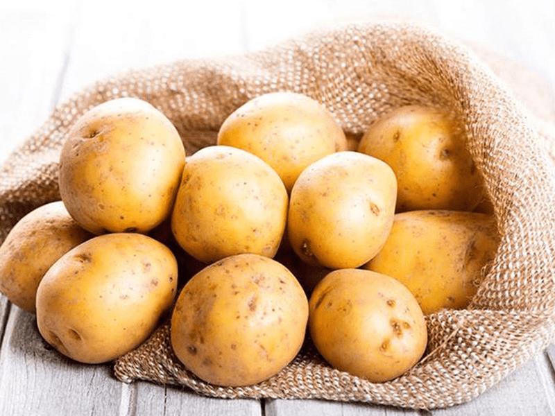 Khoai tây giàu vitamin C, B6, Kali, chất xơ tăng cường sản sinh collagen tự nhiên
