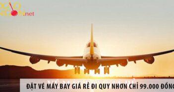 Đặt vé máy bay giá rẻ đi Quy Nhơn chỉ 99.000 đồng